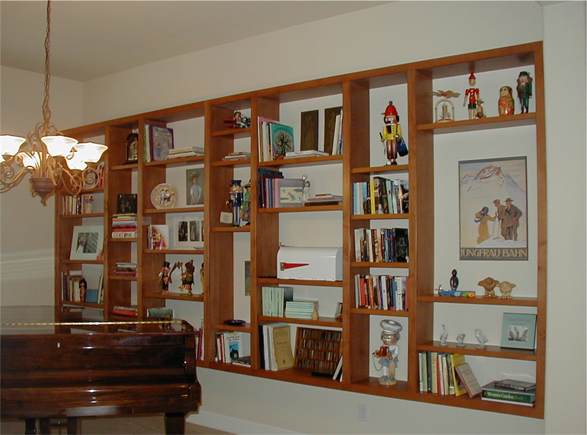 custom shelving unit