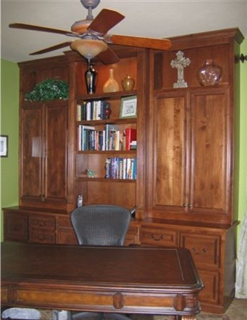 cherry built-in home-office