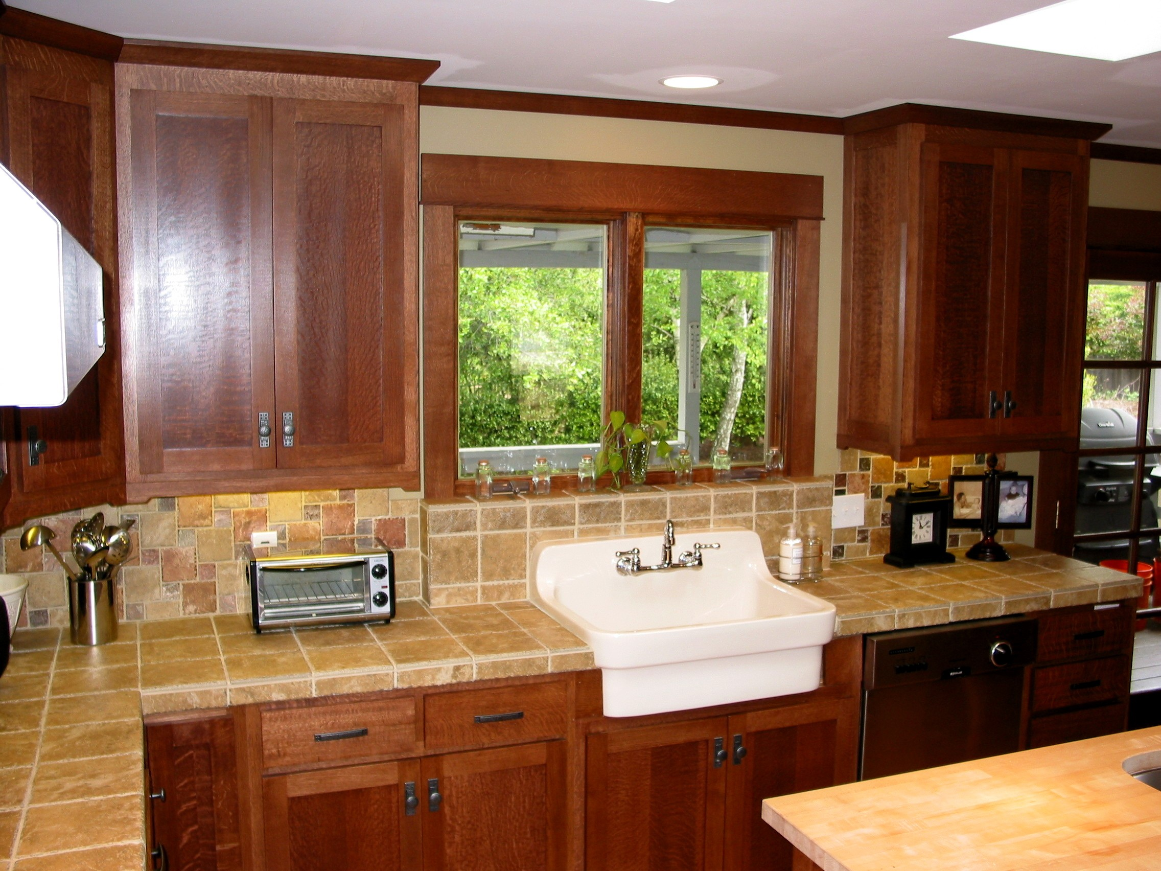 quarter sawn oak-kitchen-3