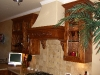 rustic alder kitchen-top-cabinets